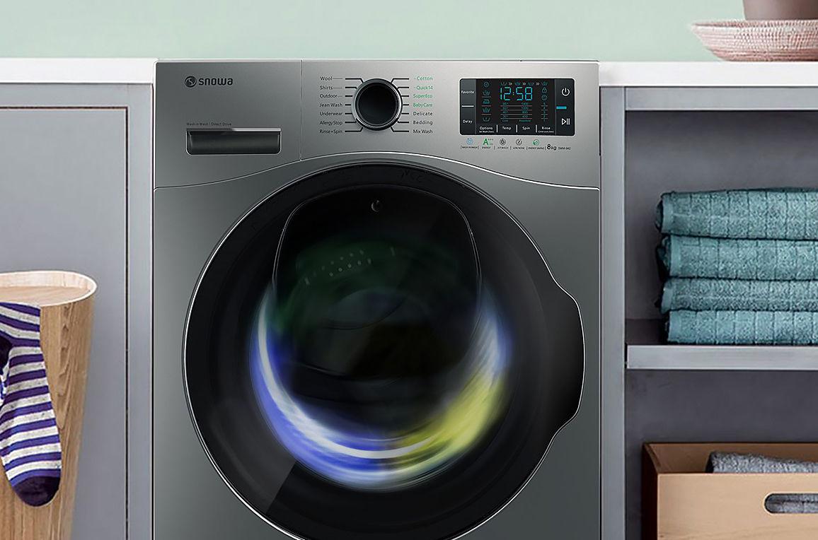 تصویر برای دسته ماشین لباسشویی اسنوا