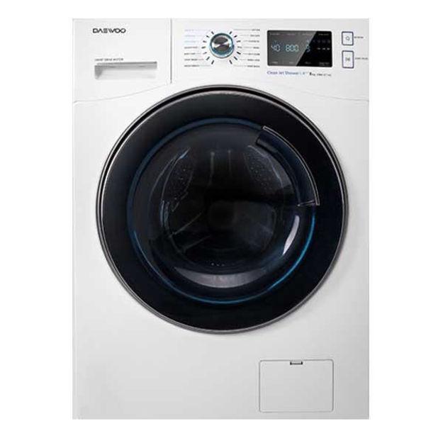 ماشین لباسشویی دوو مدل  DWE-8540 vظرفیت 8 کیلوگرم